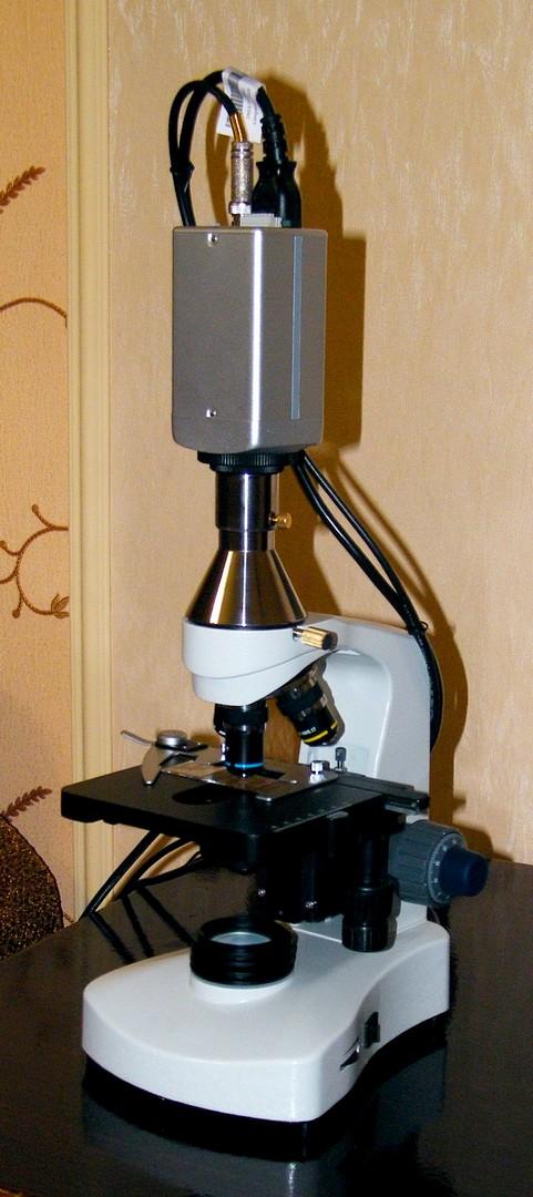 камера для микроскопа, видеоокуляр